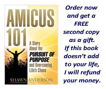 Shawn  Anderson, inspiring, speaker, author, life coach, motivational, motivation, success